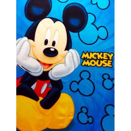 """SETINO Gyermek takaró """"Mickey egér"""" - 100 x 140 cm kék"""