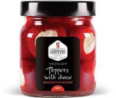 Gurmano Červené papričky plněné sýrem HOT palivé, 290g
