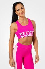 Better Bodies Fitness podprsenka BOWERY SPORTS HOT PINK (110933) - Better Bodies S