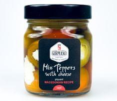Gurmano Mix papriček plněné sýrem HOT palivé, 290g