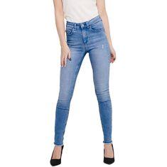 ONLY Dámské skinny džíny ONLBLUSH 15178061 Light Blue Denim