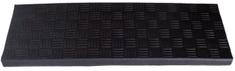 DURAmat Nášlapná rohož na schody gumová GOSSAN černá 25x75 cm