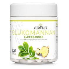 Vito life Glukomanan, 100 kapsúl