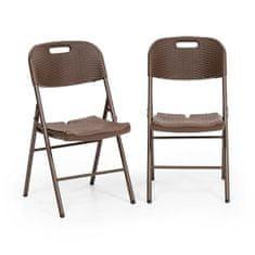BLUMFELDT Set sklopivih stolica, 2 komada