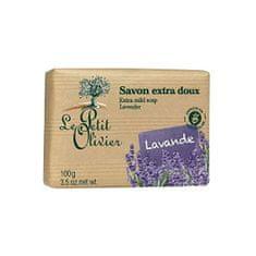 Le Petit Olivier Extra jemné prírodné mydlo Levanduľa (Extra Mild Soap) 100 g