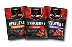 Jack Links Beef Jerky ochutnávkový MINI mix 6 x 25g