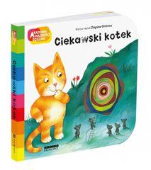 shumee Książeczka Akademia mądrego dziecka - Ciekawski kotek