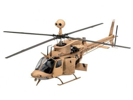 shumee Model plastikowy OH-58 Kiowa