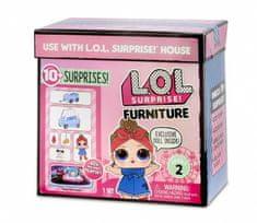shumee LOL Prekvapujúca figúrka Nábytok s bábikou, cesta autom