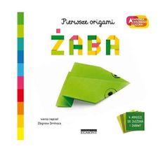 shumee Książeczka Akademia mądrego dziecka. Pierwsze origami. Żaba