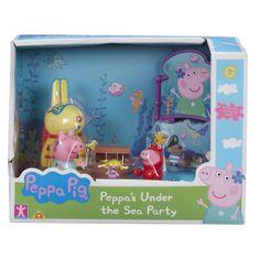 Peppa Pig Prasátko Peppa sada Svět pod vodou - 3 figurky a doplňky