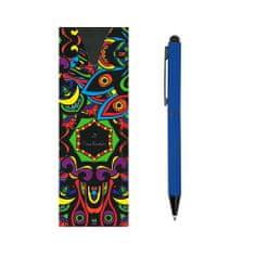 Pierre Cardin CELEBRATION Kovové kuličkové pero se stylusem modrá tmavě