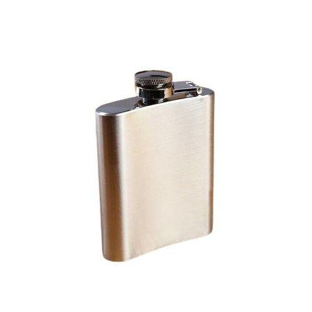 Kraftika Alkalmazási lombik, 105 ml, króm