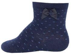 EWERS 20530 čarape za djevojčice s lukom i točkicama