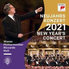 Wiener Philharmoniker: New Year's Concert 2021 (2x CD) - CD