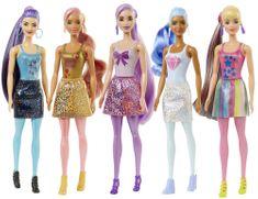 Mattel Barbie Color Reveal Csillogó Barbie