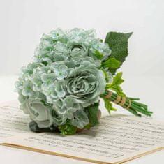 JULEST Kytička z hortenzií s růžemi TAMARA