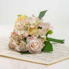 JULEST Kytička hortenzie a růže BRIGITA