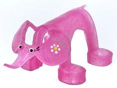 Unik-Um Zábavné divadlo se zvířátky - slon růžový