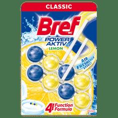 Bref Power Aktiv Lemon WC obešanka, 2 x 50 g
