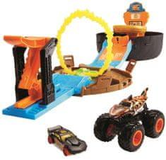 Hot Wheels Monster trucks Kaskaderski set, igrači komplet