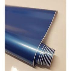CWFoo Lesklá perleťová modrá wrap auto fólia na karosériu