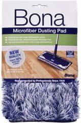 Bona Dusting pad - modro-bílá utěrka z mikrovlákna k pohlcení prachu