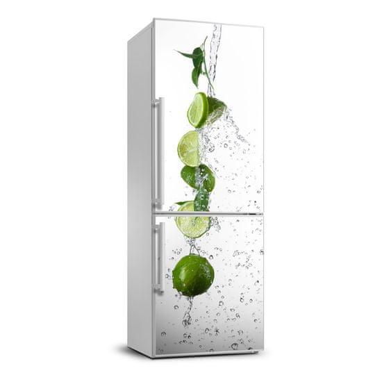 WALLMURALIA Nálepka na chladničku do domu fototapeta Limetky 60x180 cm