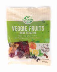 DWP eG Bio veganské gumové bonbóny ovocné, 100 g