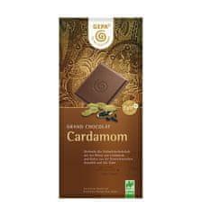 Gepa Bio mléčná čokoláda s kardamonem 100 g