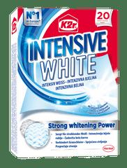 K2R Intensive White lističi za lovljenje barv, 20 kosov