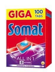 Somat All in One tablety do umývačky 100 ks