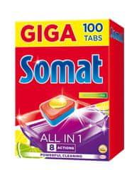 Somat All in One Lemon & Lime tablety do umývačky 100 ks
