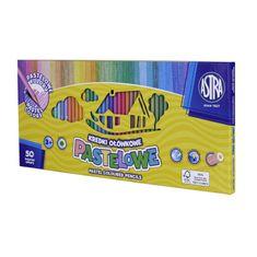 Astra Luxusní pastelové barvičky 50ks, 4mm tuha, 312121004