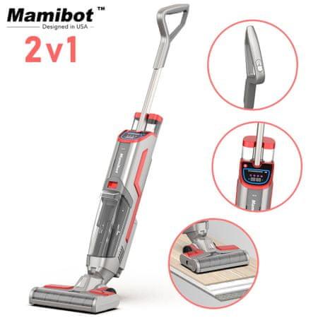 Mamibot Flomo usisivač i perač 2 u 1 , baterija, funkcija samočišćenja, UV svjetlo, LED zaslon