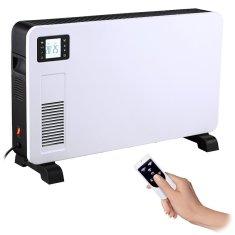 Solight horkovzdušný konvektor 2300W, LCD, ventilátor, časovač, nastavitelný termostat, KP02