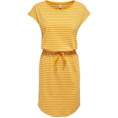 ONLY Dámské šaty ONLMAY 15153021 Mango Mojito THIN STRIPE CLOUD DANCER