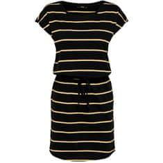 ONLY Dámské šaty ONLMAY 15153021 Black DOUBLE YOLK YELLOW/CLOUD DANCER