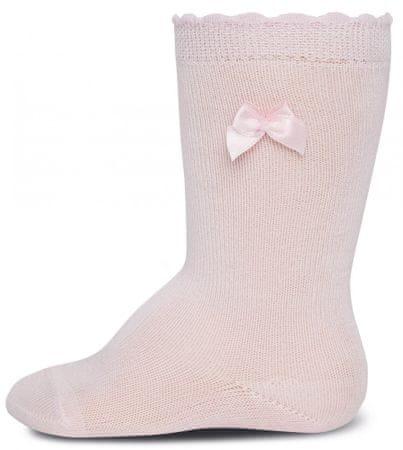 EWERS dekliške nogavice s pentljo (605003), 18-19, bele