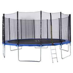 Too Much trampolin sa zaštitnom mrežom + ljestve (set), 488 cm
