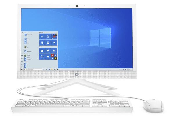 Domácí i kancelářský počítač HP 21 AiO HD webkamera, kvalitní zvuk, multimédia