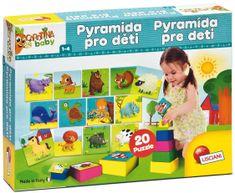 Lisciani Pyramída a puzzle pre deti