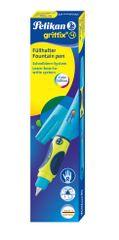 Pelikan Griffith 4 nalivpero za dešnjake, svježe plavo, u kutiji