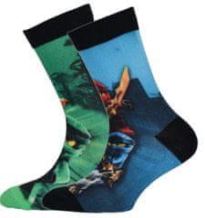 LEGO Wear 2 pack chlapčenských ponožiek Ninjago LW-12010059