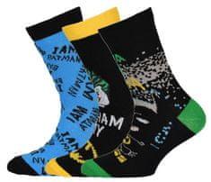 LEGO Wear Batman čarape za dječake LW-12010060, 3 pakiranja