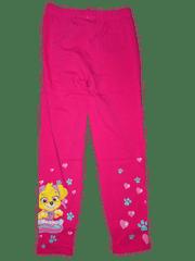 Nickelodeon Dívčí růžové legíny s pejskem Skye z tlapkové patroly.