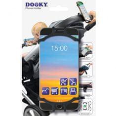 Dooky univerzálny držiak na mobilný telefón Black