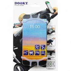 Dooky univerzálny držiak na mobilný telefón Transparent