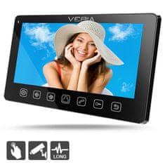 Veria Monitor LCD wideotelefonu 7070C czarny