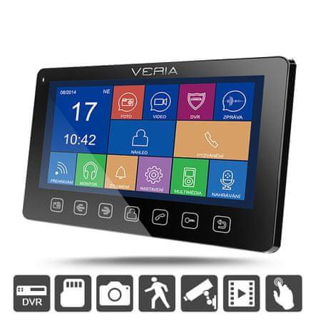 Veria Monitor LCD wideotelefonu 7076C czarny